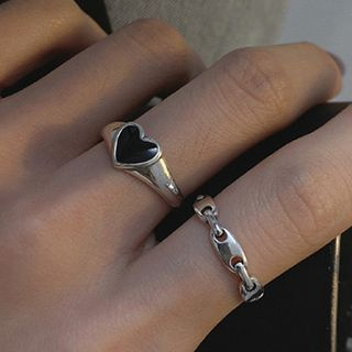 Korrs - 925 Sterling Silver Open Ring (Various Designs)