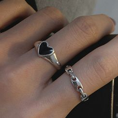 Korrs - 925 Sterling Silver Open Ring (Various Designs)