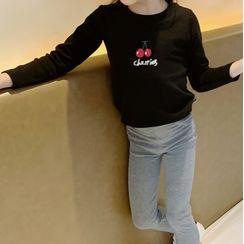 AMIS - Kids Cartoon Print Long-Sleeve T-Shirt