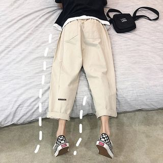 Breeson - 寬腿工裝褲