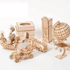 DAILYCRAFT - 木製3D模型飾物 (多款設計)