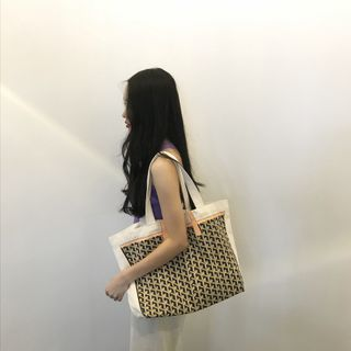 TangTangBags - Pattern Panel Canvas Tote Bag