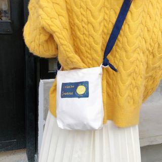 Milha - Canvas Mini Crossbody Tote Bag