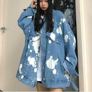 LINSI - Color Splash Denim Jacket