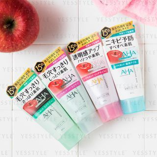 BCL - AHA Wash Cleansing 120g - 4 Types