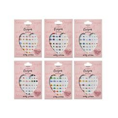 SONREVE - Crayon Nail Sticker NEW - 6 Types