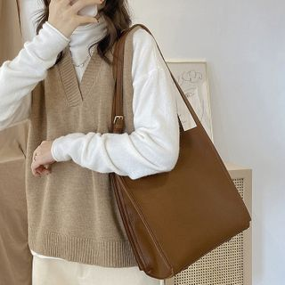 Studio Sophista - Faux Leather Tote Bag