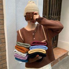 MERONGSHOP - Rib-Knit Beanie in 10 Colors
