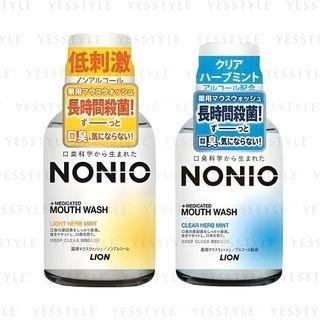 LION - Nonio Mouthwash 80ml - 2 Types