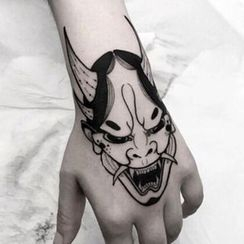 Groovy Tattoo - Demon Waterproof Temporary Tattoo