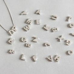 Phoenoa - 925 Sterling Silver Alphabet Pendant Necklace