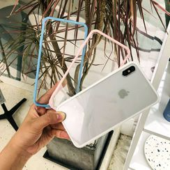 NISI - 透明手机保护壳 - iPhone XR, iPhone XS MAX, iPhone X, iPhone 7 / 8, iPhone 7 Plus / 8 Plus, iPhone 6 / 6s, iPhone 6 Plus / 6s Plus, iPhone11, iPhone11 PRO, iPhone11 PRO MAX