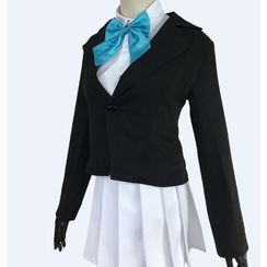 Mikasa - 地縛少年花子君四島芽衣角色扮演服裝套裝