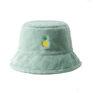 HARPY - Embroidered Fleece Bucket Hat
