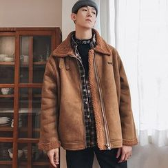 YERGO - Fleece-Lined Zip Jacket