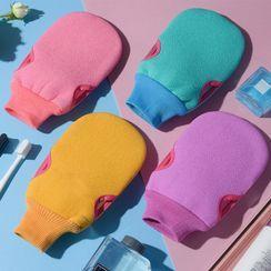 Honeyfluff - Double Side Body Scrub Bath Glove