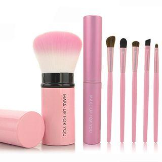 MAKE UP FOR YOU - Set of 6 / Set of 8: Makeup Brushes