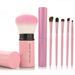 MAKE UP FOR YOU - Set of 6 / Set of 8: Makeup Brushes