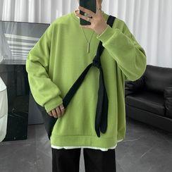 YERGO - 假两件卫衣