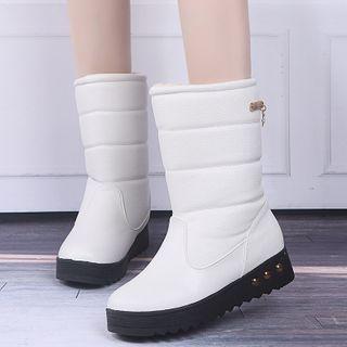 Aneka - 厚底夹层短靴