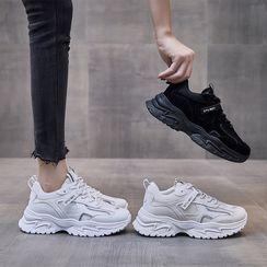 Shanhoo - Platform Chunky Sneakers