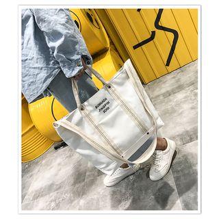 sunsquared - 字母帆布手提包