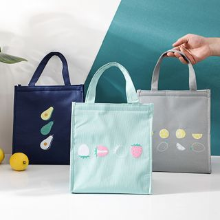 Home Simply - Fruit Print Insulated Lunch Bag