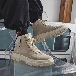 Holzwege(ホルツウェジ) - Lace-Up Short Boots