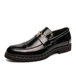 WeWolf - 翼紋仿皮樂福鞋