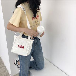 Eastin - Square Canvas Handbag