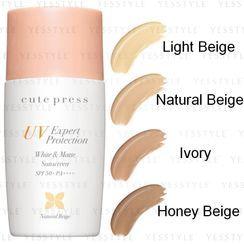 Cute Press - UV Expert Protection White & Matte Sunscreen SPF 50+ PA++ 30g - 4 Types