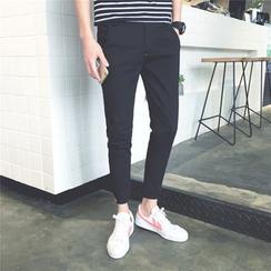 ZONZO - Plain Slim Fit Pants