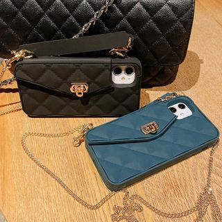 TinyGal - Handbag Style Phone Case - iPhone 11 Pro Max / 11 Pro / 11 / SE / XS Max / XS / XR / X / SE 2 / 8 / 8 Plus / 7 / 7 Plus
