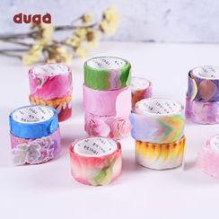 DUGA - 花瓣美纹纸胶带