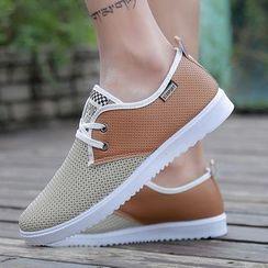 Viffara(ヴィファラ) - Lace Up Casual Shoes