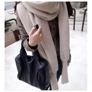 Eva Fashion - Knitted Sleeve Scarf