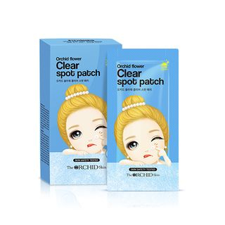 The ORCHID Skin - Orchid Flower Clear Spot Patch Set 10packs