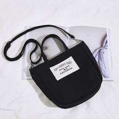 AIQER - 帆布貼布繡手提袋