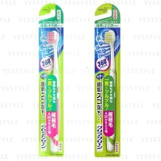 Kao - Clear Clean Tooth Surface & Gap Plus Compact Toothbrush - 2 Types