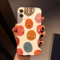 Huella - Cartoon Phone Case For iPhone SE / 7 / 7 Plus / 8 / 8 Plus / X / XS / XR / XS Max / 11 / 11 Pro / 11 Pro Max