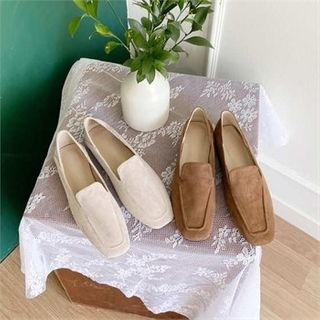 MONOBARBI - Faux-Suede Loafers