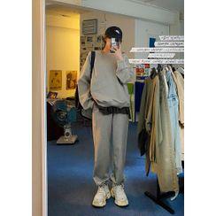 chuu - Jogger Cotton Sweatpants