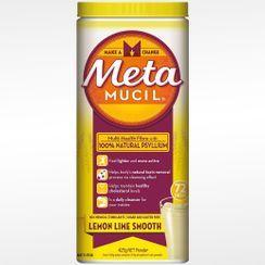 Metamucil - Smooth Lemon Lime Fibre Powder