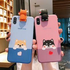 Tianwi - Dog Print Mobile Case - OPPO / vivo / Meitu