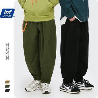 Newin - 宽松工装梭织裤