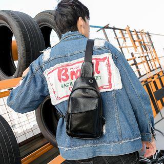 ETONWEAG - Faux-Leather Sling Bag
