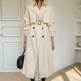 DABAGIRL - Classic Trench Coat for Spring