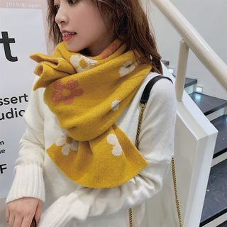 Kalamate - 花朵针织围巾