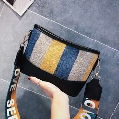 Kunado - Color Block Crossbody Bag