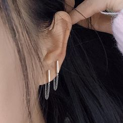 Mimishi - Chain Drop Earring